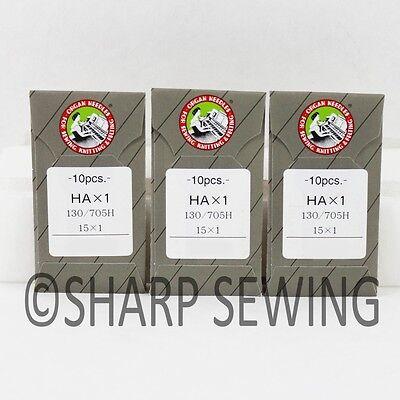 HAX1 130//705H  SIZE#12 HOME SEWING MACHINE NEEDLES  100 EACH ORGAN 15X1