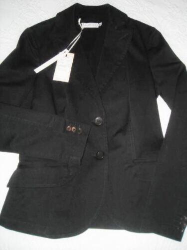 Italy Giacca 42 It Made Giacca Nwt elasticizzato Blazer In Nero Cotone Donna Peserico q4trS4nU