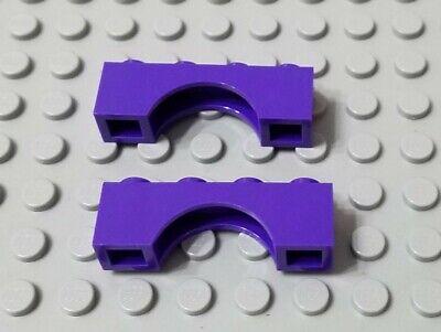 LEGO Lot of 6 Dark Purple 1x4 Bricks