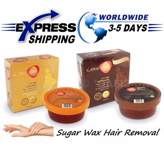 100% Natural 200 gm Sugaring Sugar Wax Hair Removal Honey & Molasses Sweet  Paste