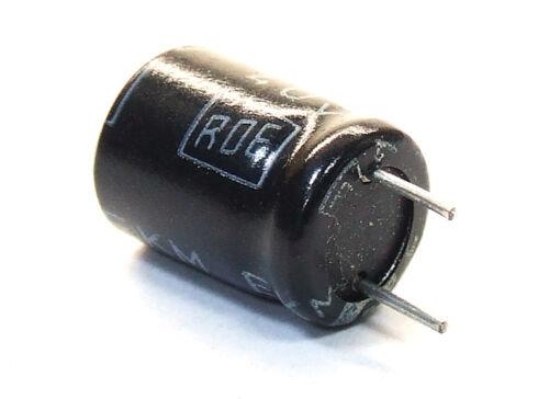 2x roe Roederstein 47uf 47µf 40v ekm Electrolytic capacitors//Elko condensadores
