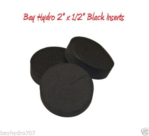 """Bay Hydro 2/"""" x 1//2/"""" FIRM Neoprene Insert Top Quality SAVE $$ WITH BAY HYDRO $$"""