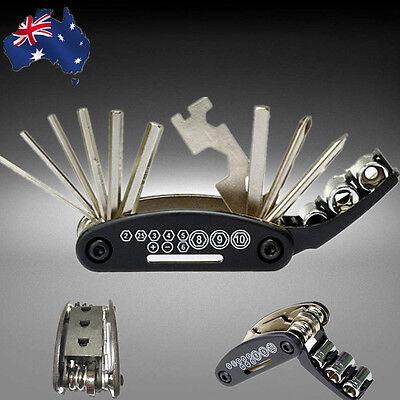 15 in 1 Multi-function Multi Bicycle Bike Tool Repair Kit Cycling TBISC1501
