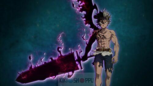 Poster 42x24 cm Black Clover Asta Demon Manga Anime Cartel Decor Otaku 12