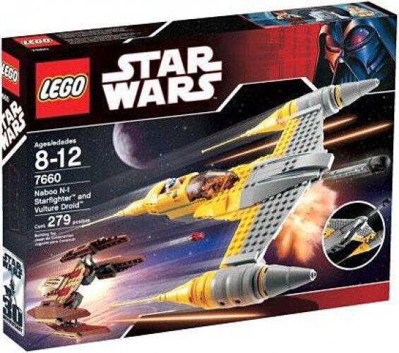 Star Wars The Phantom Uomoace Naboo N-1 Starfighter & Vulture Droid Set  7660