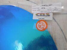 "Dichroic Glass Sheet:CBS Pink/Teal on Thin Black 90COE 3""Sq"