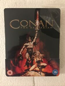 UK Edition New & Sealed Steelbook Conan The Barbarian Blu-ray Steelbook