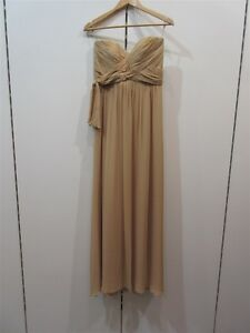 ME-TOO-Matthew-Eager-NUDE-STRAPLESS-Gown-sz-12-bnwt-F5-RRP-699