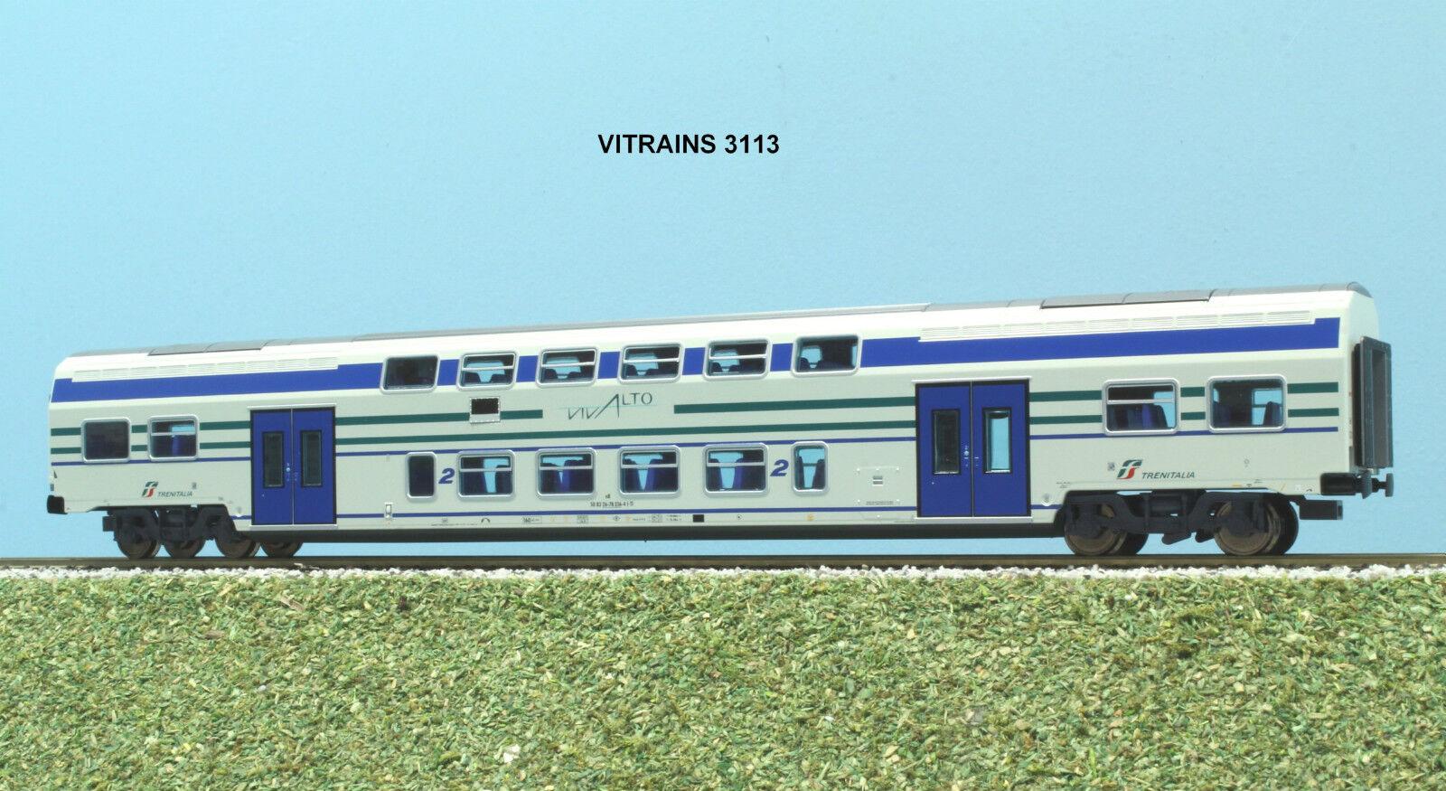 Vitrains ART. 3113 carrozza VIVALTO   di 2 classe livrea  FS Trenitalia