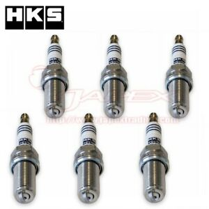 HKS-Super-Fire-M35iL-Spark-Plug-For-SKYLINE-HV35-2001-6-2004-10-VQ30DD-M35iLx6