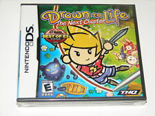 NINTENDO DS NDS GAME DRAWN TO LIFE THE NEXT CHAPTER BRAND NEW & SEALED