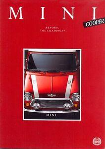 Mini-Cooper-1991-German-market-original-colour-sales-brochure