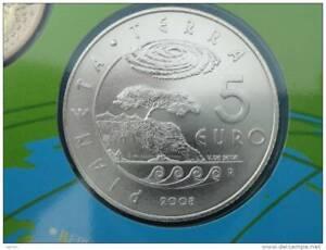 2008 - 5 Euro Euros San Marino Argent Saint Marin Scellée du coffret BU silver