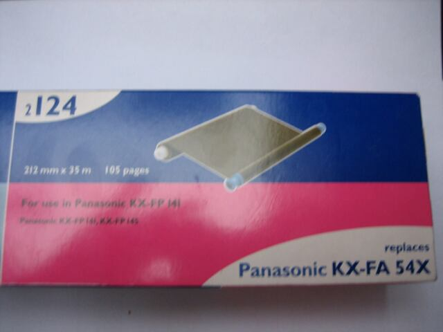 5x Inkfilm Faxrolle für Panasonic KX FP 145 KXFP145 KX-FP 145 kompatibel
