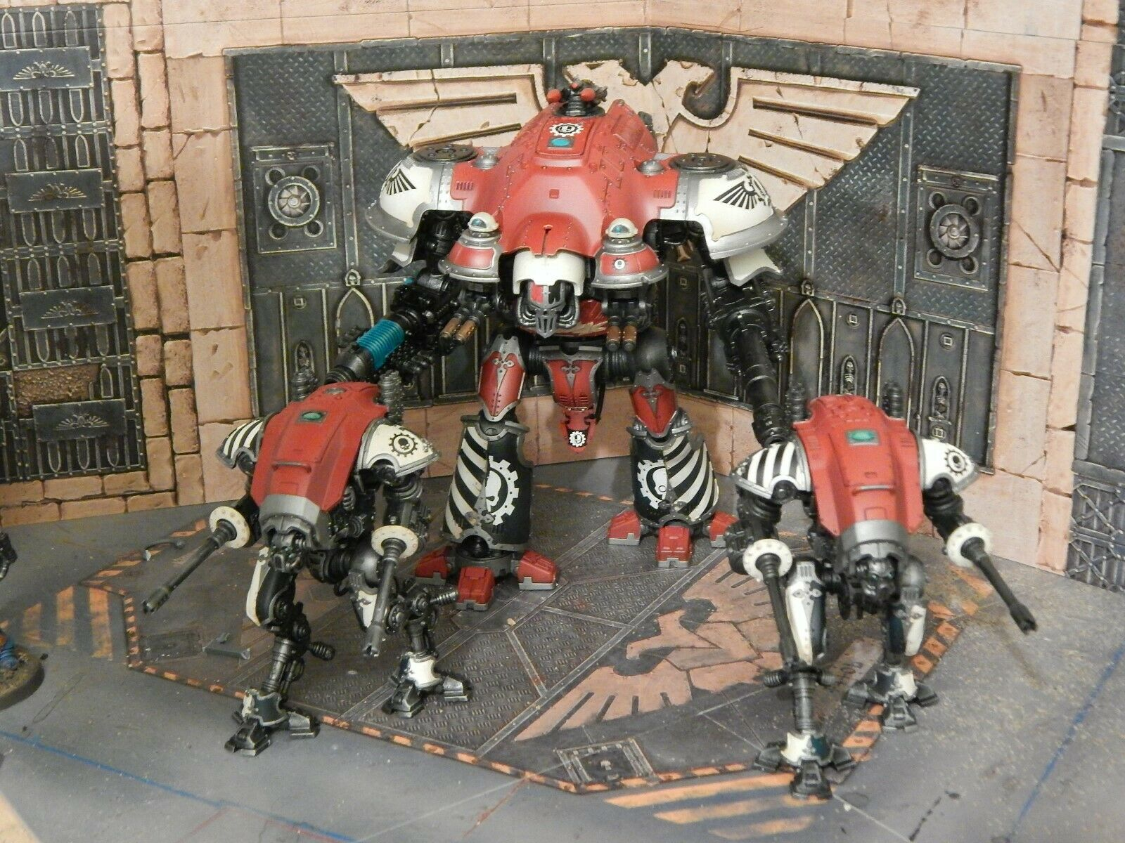 Imperial Caballeros-Castellan, valiente, otras variantes-Commisions