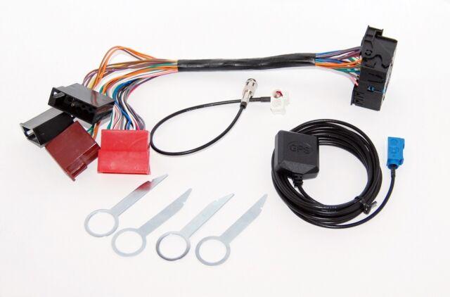 Audi A3 A4 A6 RNS-E BOSE SYSTEM plug /& play adapter retrofit kit