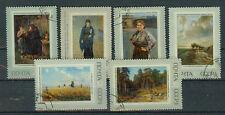 Russland Briefmarken 1971 Genossenschaft der Wanderausstellungen Mi.Nr.3930-35