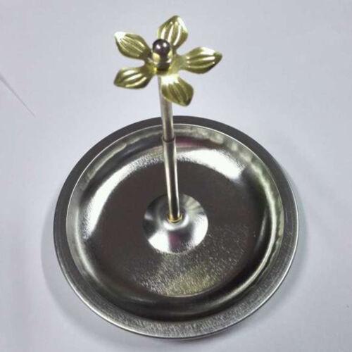 Adjustable Incense Holder Burner Plate For Sandalwood Spiral Coil Incense