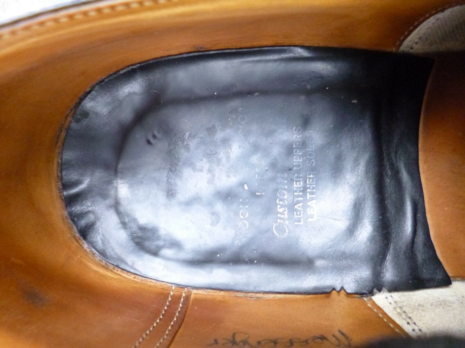 CHURCH VINTAGE VINTAGE VINTAGE OXFORD - schwarz - UK 8 (WIDE) – MESSENGER – VERY GOOD CONDITION 8a3cb9