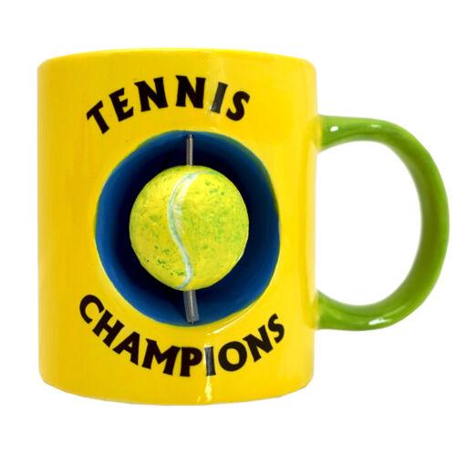 Tasse mit beweglichem Tennisball Kaffeetasse Tennis