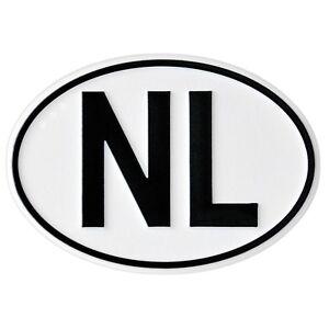 Hoch-Relief-NL-Schild-Emblem-Niederlande-NL-Holland-HR-15006-selbstklebend