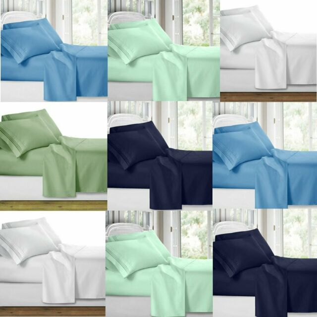 *NEW SUPER SOFT 6 PIECE SHEET SETS IN MULTIPLE COLORS