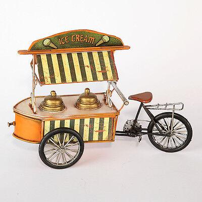 """Spielzeug Sparsam Blechmodell """"ice Cream Bike"""" Blechspielzeug"""