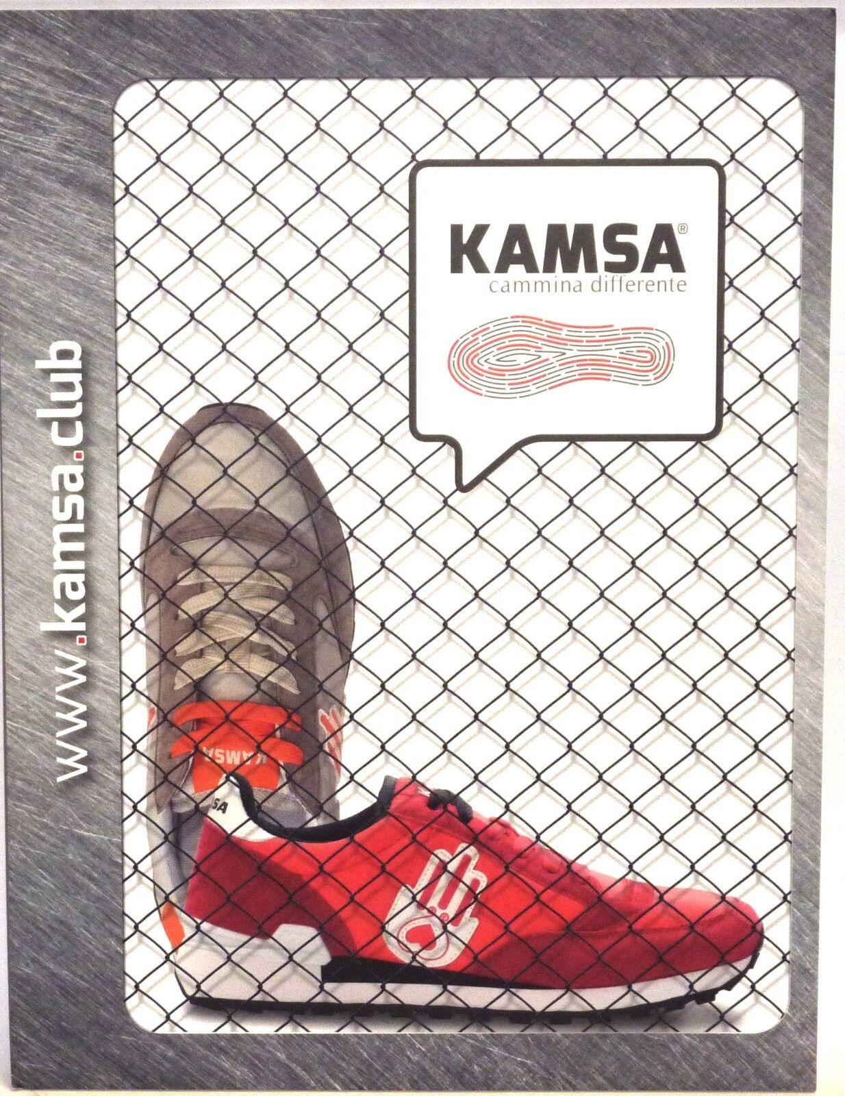 KAMSAS Licht Herrenschuhe Casual Tennis anschnallen Licht KAMSAS aus Microfiber rot n. 43 25a00f