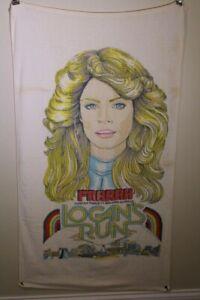 Logan's Run Farrah Fawcett Towel 1970s