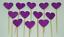 12-Paillettes-Coeur-Cupcake-Toppers-Parti-Decoration-cup-cake-topper-Food-drapeaux miniature 18