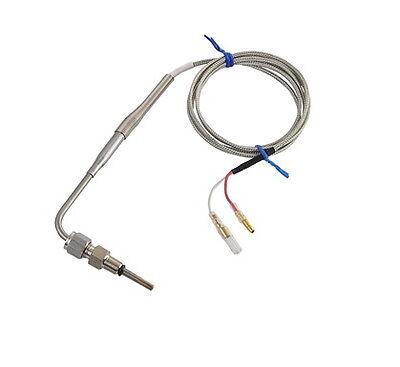 EGT Probe Exhaust Gas Temp Sensor Sender Gauge Meter Unit 1/8 NPT K type 0-1300c