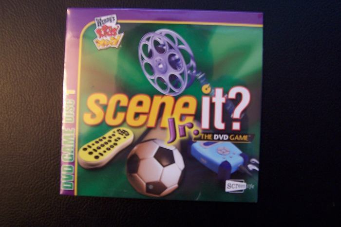 Wendy's Kids' Meal DVD Game Disc 1 Scene It? Jr Sealed