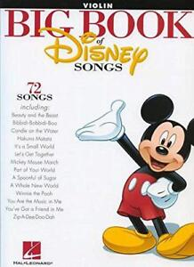 The-Big-Book-Of-Disney-Songs-Violin-by-Various-NEW-Book-FREE-amp-Fast-Delivery