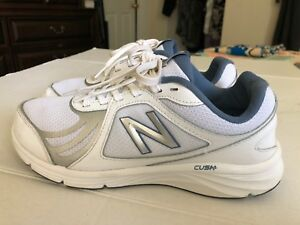 4145337616d7d New Balance 496v3 Athletic Sneakers, Women's Size 8.5B, White/Silver ...