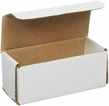 50 Pack Small Shipping Boxes Cardboard 6x3x3 Corrugated Delivery Supplies Strong