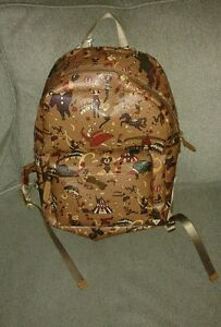 Image is loading NWT-Piero-Guidi-Magic-Circus-Backpack-Light-Brown- 81f0f710c5d