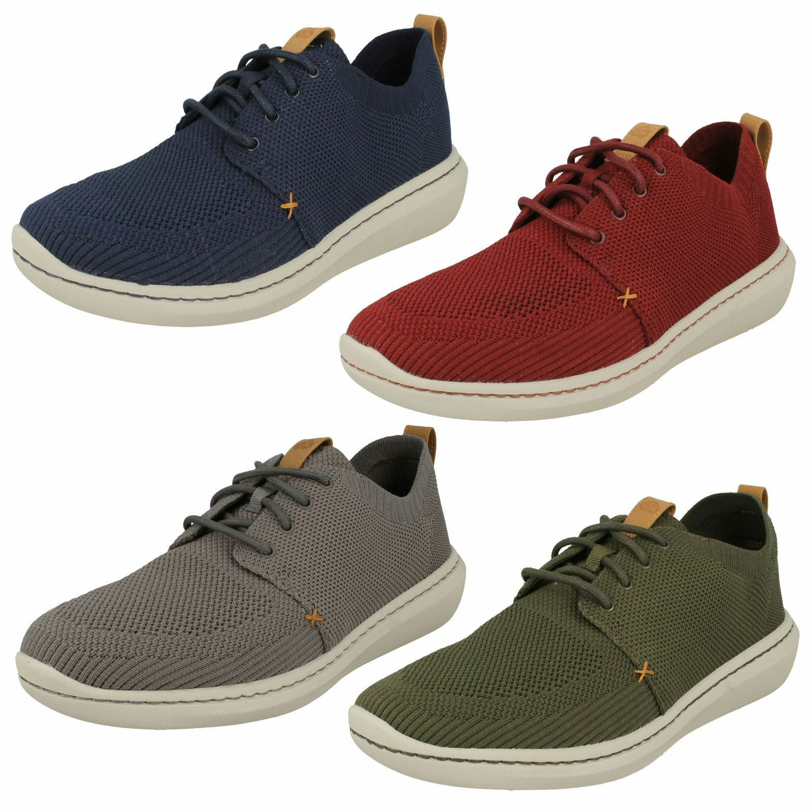 'Mens Clarks' - Casual Lace Up Shoes - Clarks' Step Urban Mix 6c25c5