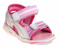 Rugged Bear Toddlers Girls White Pink Sandals Shoes Sizes