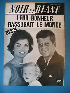 978-JOHN-KENNEDY-AFFAIRE-KOWACS-SIMON-WIESENTHAL-REVUE-NOIR-ET-BLANC-1963