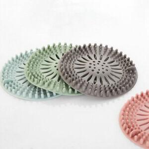 Hair Catcher Bathroom Kitchen Stopper Floor Drain Shower Filter Sink Straine Details about  /DI