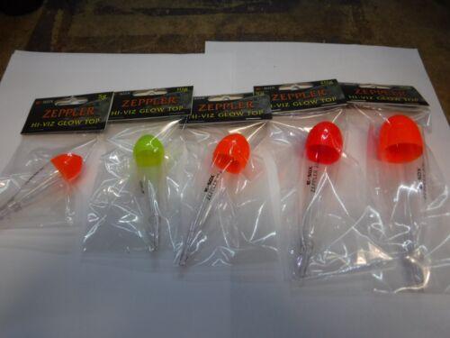 DRENNAN  zeppler hi viz glow tops 5-30grams