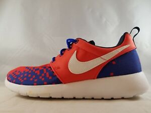 reputable site 3c879 dcf1e Image is loading Nike-Roshe-One-Print-GS-Kid-039-s-
