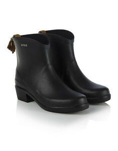 Womens Miss Juliette Bottillon Rubber Boots