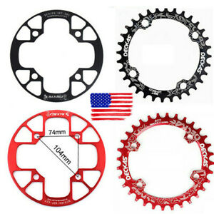US-DECKAS-32-38t-104bcd-MTB-Road-Bike-Sprockets-Single-Crankset-Chainring-Guard