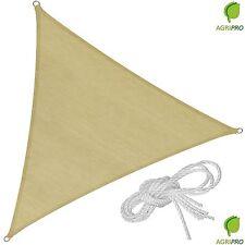 Tenda a vela triangolare ombreggiante mt 5 telo da sole ombra giardino parasole