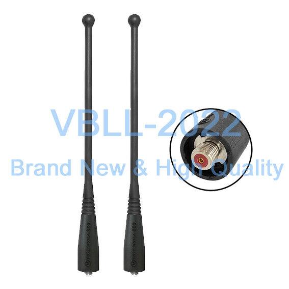 2 UHF Whip Antenna for MOTOROLA NAF5037A 8505241U03 HT1000 MT2000 MTS2000 800MHz