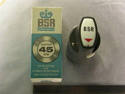 Pfanstiehl BS3 BSR SP7 45 RPM Record Adapter //EV#420S