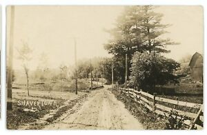 RPPC-Dirt-Street-SHAVERTOWN-PA-Luzerne-County-Pennsylvania-Real-Photo-Postcard