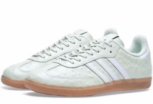 Détails sur Authentic Exclusive Origine Adidas Samba W Naked (Royaume Uni Taille 7 & 7.5) vertGum afficher le titre d'origine