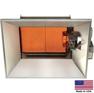 Natural Gas Infrared Heater